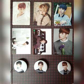 Official vixx photocard and badge