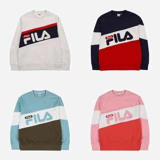 100% Original Fila Logi Sweater