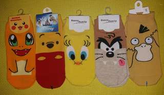 Character Ankle socks
