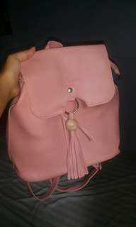 peach back pack