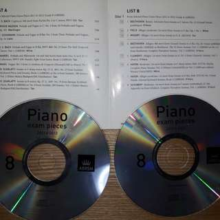 Gd.8 Piano exam. pieces (2011 & 2012)