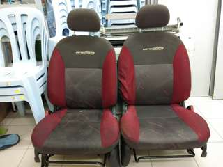 Seat myvi LE depan belakang