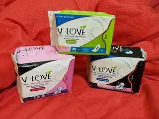 V-Love Sanitary Pads