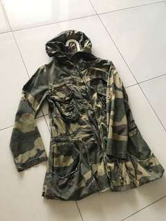 Men camouflage jacket