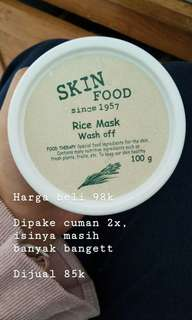 Skinfood Rice Wash Mask