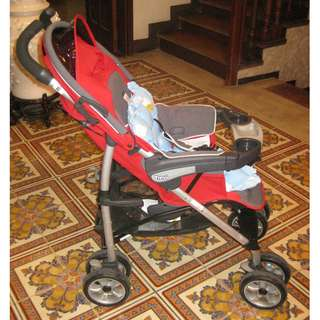 Chicco Trevi Stroller Red