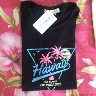 Tee Urban Hawaii Neon