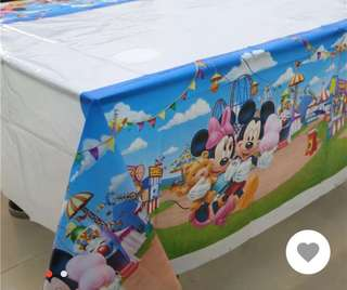 Mickey mouse table covers