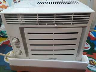 Carrier Aircon 0.5 HP w/ timer