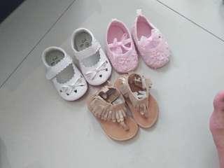Sepatu baby size 12 dan 13