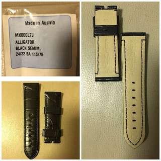 Brand new Panerai Alligator leather strap