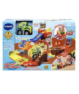 Brand New Vtech Go! Go! Smart wheels press & race monster truck