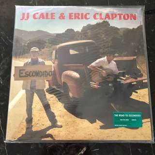 Eric Clapton, J J Cale - Road to Escondido . Vinyl Lp. New