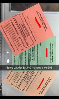 Estée Lauder & MAC makeup sale for SUNDAY ONLY