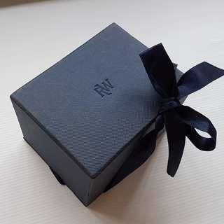 Vintage Raymond Weil, Retro Old Fashion, Rare Raymond Weil Designer Watch Box, Original, Switzerland, Authentic, Collectables