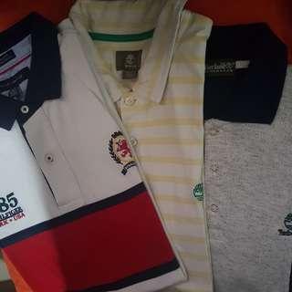 Polo shirt Tommy Hilfiger & Timberland (3pcs)
