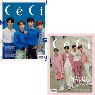 WANNAONE CECI MAGAZINE JUNE ISSUE