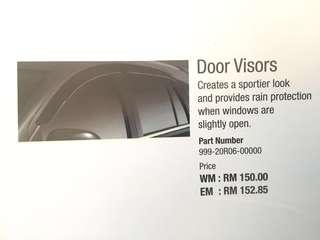 Genuine Myvi 2017 Door Visors