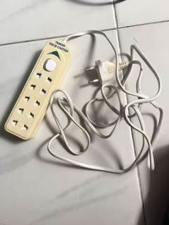 Multi plug (for 2 pins only) $2