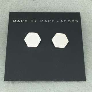 Marc By Marc Jacobs Sample Earrings 銀色六角形耳環