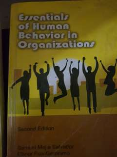 Essential of Human Behavior in Organization