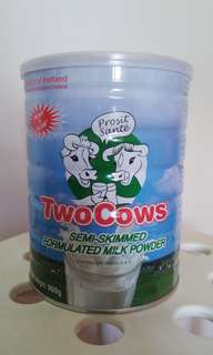 淘高斯高鈣半脂奶粉 TwoCows Semi-skimmed Formulated Miok Powder