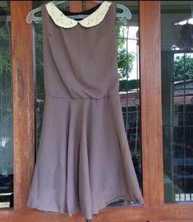 Brown Formal Dress