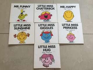 Mcdonalds Mr Men & Little Miss books for $10