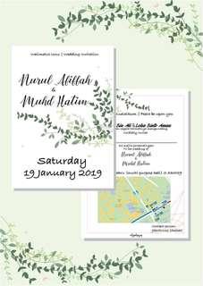 Wedding Invitation(customizable)