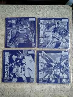 高達 滑鼠墊 (共4個) Gundam mouse pad