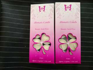 Aromatic Candles (Stearic Acid Free)