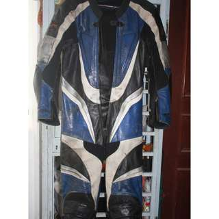 German X-strom Echtes Leder Echt Leer Heavy duty full body armour Racing protection suit Genuine leather with 100% polyester  Seasoned leather for small slender rider