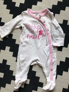 Monthercare sleepsuit