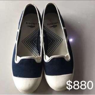 LACOSTE/休閒鞋/鱷魚/帆布鞋