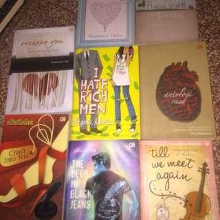 Novel Indonesia Romance Metropop