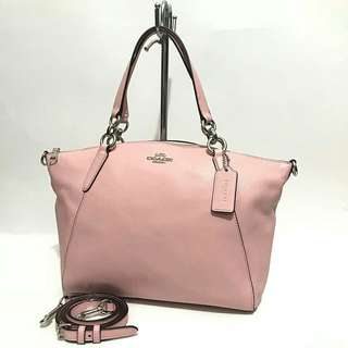Coach Small Kelsey Blush Pink