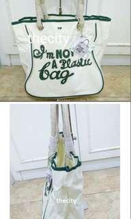 anya hindmarch im not a plastic bag
