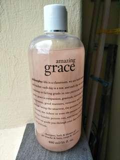 *new* Philosophy bath and shower gel 480ml