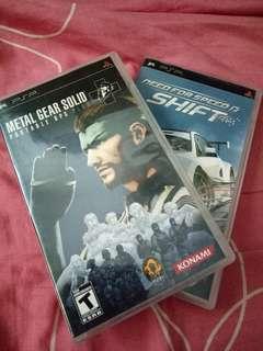 PSP UMD Game