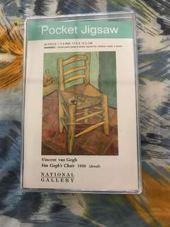 Pocket Jigsaw -Van Gogh's Chair - 57 pcs
