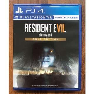 Ps4: Resident Evil 7 biohazard Gold Edition [R3]