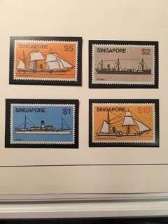 Singapore um mint ship series