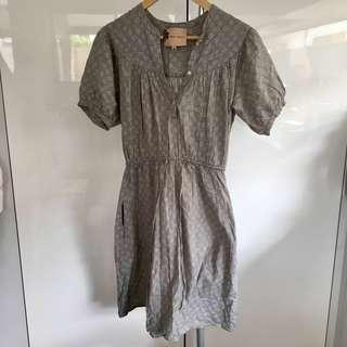 Fleur Wood Grey Dress