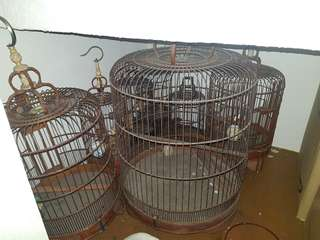ANTIQUE Bird cage Sangkar Burung