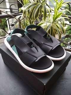 Adidas Sandal Y3 Qasa Elle Black Charcoal Grade Original