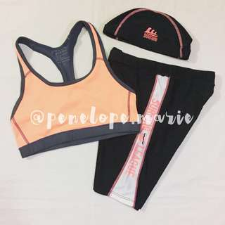 Authentic Hang Ten & Outperformer Activewear Set (Peach) + Free Shipping*