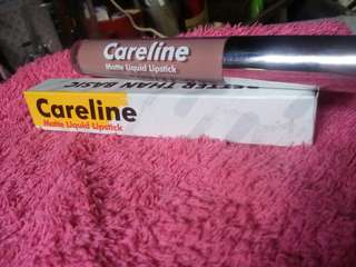 Pre-loved Careline Matte Liquid lipstick. Used once