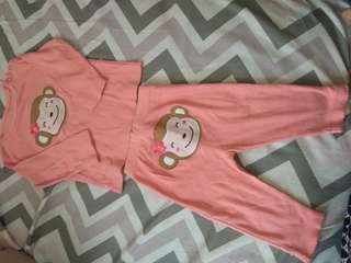 Baju tidur monkey cewek