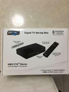 NewMedia Solutions DVBT2 SETUP BOX