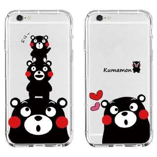 熊本熊透明IPhone Case**可以訂造其他型號(eg:三星)